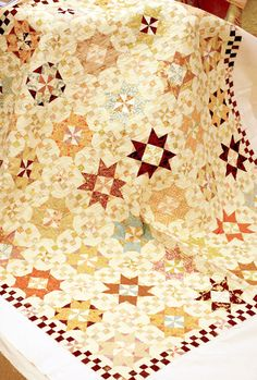 Vintage Stars -gorgeous pattern and colors
