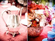 Cute details for an Alice in Wonderland wedding.