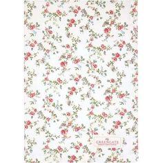 Bella Rose, Tea Towels, Gates, Floral Tie, Hygge, Vintage, Decor, Design, Products