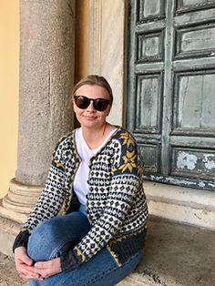 Strikket jakke til bunad pattern by Nina Granlund Sæther