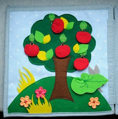 Counting Apple Tree - add numbers to the apples (site in another language)