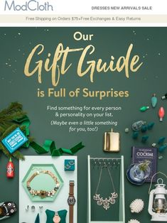 Let us take care of your gifting list.