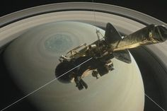 Cassini Bids Farewell before Blazing into Saturn [Video]  NASA's plucky, dependable spacecraft will burn up in the atmosphere after 13 years at the planet