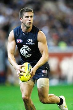 Carlton Afl, Carlton Football Club, Soccer Pictures, Rugby Men, Photography Poses For Men, Rugby Players, Athletic Men, Sports Stars, Sport Man