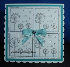 March Flowers stamp set