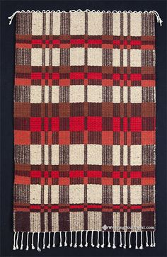 Your Daily Dose of Inspiration! Handwoven Rug by Cheryl Demas. Enjoy!