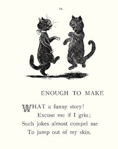 """Enough to Make"" - Louis Wain by docarelle, via Flickr"
