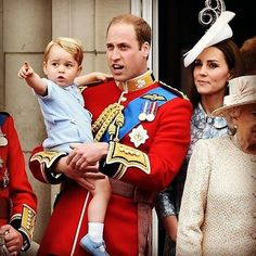 I'm so excited for trooping the colour this year on the 11th June, especially because it is rumoured that both Prince George and Princess Charlotte will be there...to make it even better I'M GOING TO LONDON ON THAT DAY for a concert!! It doesn't start until 3pm so I'm hoping I'll have time to go and hopefully get a peek of the royal family (the fly past, where they all appear on the balcony, is usually at 1pm). I know I will not get a good view because my train does not get into London…