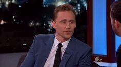 Tom Hiddleston on Jimmy Kimmel Live! 3-22-2016 [FULL INTERVIEW]