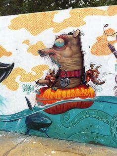 el graffiti