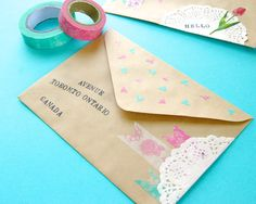 Omiyage Blogs: Send Pretty Mail #28/29 - Sweet Details
