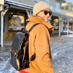 Limited Edition ryggsekk, designet i Norge. Kun 50 stk i hele verden. Leather Backpack, Fashion Backpack, Backpacks, Bags, Women, Handbags, Leather Backpacks, Backpack, Backpacker