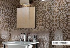 #MARVEL bronze | #Brocade | #Wall design | #AtlasConcorde | #Tiles | #Ceramic