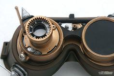 Como Fazer um Óculos de Proteção no Estilo Steampunk