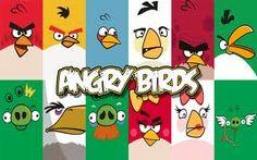 paint angry bird pumpkins