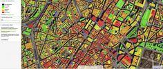 Thermographie aérienne de Bruxelles - flight thermography of Brussel's centrum