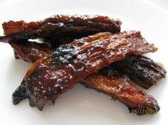 Yuba (Dried Bean Curd) Ribs!! (Vegan)