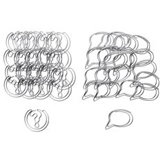 Paper clips at IKEA  $3.99 for 20 count package