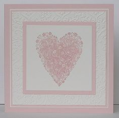 """""""Ever After"""" Heart Stamp"""