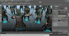 Archer Scene Tutorial – Golaem 6