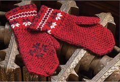 Ravelry: Swedish Jamtland Mittens pattern by Carol Rhoades