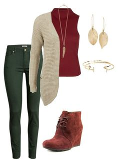 """""""Untitled #23"""" by mymyhearts on Polyvore featuring Clarks, H&M, Topshop, ONLY, Lulu*s, Roberto Cavalli and Aéropostale"""