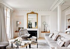 6+Positively+Chic+Paris+Homes+via+@domainehome