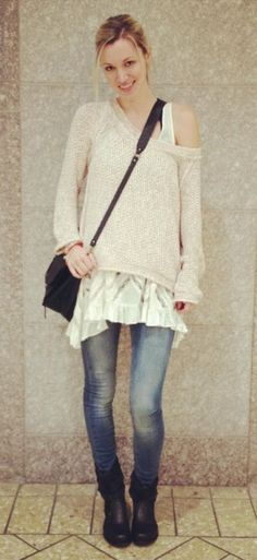 Marled Yarn Pullover style pic on Free People