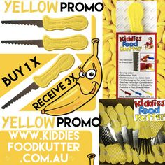 www.kiddiesfoodkutter.com.au YellowPromo on now July 2017 Children, Kids, Red And Blue, Safety, Teaching, Food, Young Children, Young Children, Security Guard