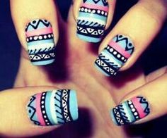 Girly Nail art - http://yournailart.com/girly-nail-art/ - #nails #nail_art #nails_design #nail_ ideas #nail_polish #ideas #beauty #cute #love