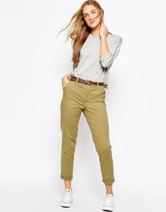ASOS+Chino+Trousers+with+Belt