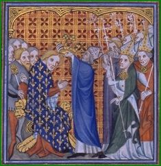 Anointing of Philippe VI Uk History, My Family History, British History, Edward The Black Prince, Prince Edward, Philip Iv Of France, Philippa Of Hainault, John Of Gaunt, Art