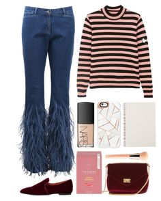"""""""4.920"""" by katrina-yeow ❤ liked on Polyvore featuring Shrimps, Michael Kors, The Row, Guerlain, NARS Cosmetics and Casetify"""