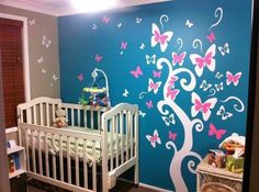 Baby girl room http://media-cache7.pinterest.com/upload/116882552798585283_Qtr3BMLt_f.jpg leoniew home and living