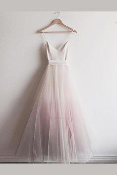 Chic Ombre Prom Dresses Spaghetti Straps A-line Floor-length Long Prom Dress JKL. - Chic Ombre Prom Dresses Spaghetti Straps A-line Floor-length Long Prom Dress Source by - Ombre Prom Dresses, Homecoming Dresses, Bridal Dresses, Bridesmaid Dresses, Wedding Gowns, Dress Prom, Wedding Shoes, Prom Ballgown Dresses, Party Dress