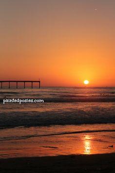 Ocean Beach, San Diego, California paintedposies.com