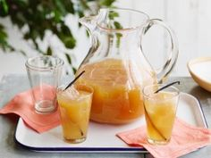 Homemade Peach Iced Tea from CookingChannelTV.com