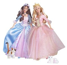 Barbie as the Princess and the Pauper, Princess Anneliese and Pauper Erika doll 2004