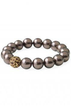 Soiree Pearl Pave Bracelet from Stella and Dot
