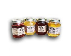 100% pure raw honey infused with organic herbs, created for an instant tea.  Gift pack includes 4 flavors, Organic Chamomile Honey Tea, Organic Cinnamon Honey Tea, Organic Ginger Honey Tea,& Organic Wild Berry Honey Tea. 1 teaspoon of honey tea thyme added to a cup of hot water is all that's required for a wonderful cup of tea. 5 oz each,18 servings per jar.