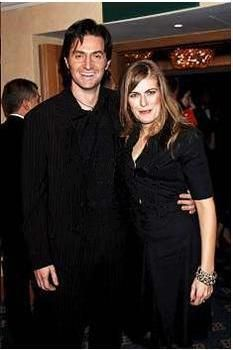 With Annabelle Capper in 2006. Rumor has it she was his girlfriend at one time, but who knows?