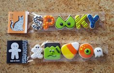 Halloween Cookie Packages