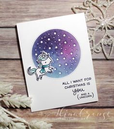 Hi stampers! I am back today sharing (finally) the Christmas cards I made for my kids and husband along with the gift card holders that ...
