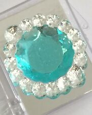 8pc Edible Sugar Rectangle Diamond Cake Cupcake Jewels Brooches Cake Decoration