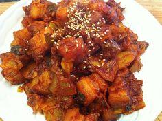 Dwaejigogi Bokkeum Korean Bbqkorean Foodfried Porkrecipe
