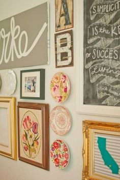 7 Tips for STELLAR Gallery Walls! | Specs and Wings | Bloglovin