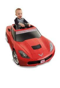 Power Wheels Corvette Styled just like the Seventh-Generation Corvette. Two speeds: 6mph (and 3mph) forward, 3 mph reverse. http://awsomegadgetsandtoysforgirlsandboys.com/toys-3-yr-old-boys/ Power Wheels Corvette