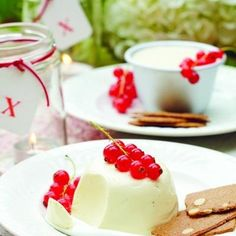 Elderflower Pannacotta from A Perfect Day for a Picnic by Tori Finch (Ryland Peters & Small)