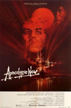 Apocalypse Now USA Coppola 1979 - original vintage film poster by Bob Peak for the Francis Ford Coppola movie set during the Vietnam War, Apocalypse Now, starring Martin Sheen, Marlon Brando and Robert Duvall listed on AntikBar.co.uk