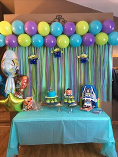 Toy Story Buzz Lightyear party